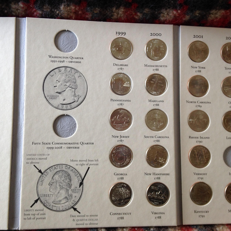 1999 to 2008 BU Quarter Set